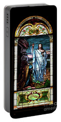 Blessed By Jesus Portable Battery Charger