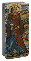 Blessed Junipero Serra Portable Battery Charger