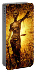 Blind Justice  Portable Battery Charger