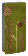 Blob Flower Garden Portable Battery Charger