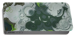 Portable Battery Charger featuring the digital art Blobs - 13c9b by Variance Collections