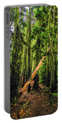 Blocked Trail Portable Battery Charger