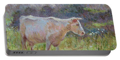 Blonde D'aquitaine Portable Battery Charger
