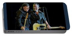 Portable Battery Charger featuring the photograph Blood Brothers by Jeff Ross