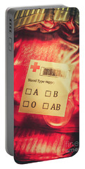 Blood Donation Bag Portable Battery Charger
