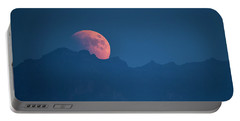 Blood Moon Rising Portable Battery Charger