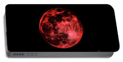 Blood Red Moonscape 3644b Portable Battery Charger