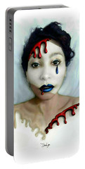 Blood Sweat Tears Faced Portable Battery Charger