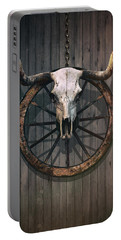 Bloody Bull Skull Portable Battery Charger