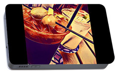 Bloody Mary And Moscow Mule Portable Battery Charger by Frush Photos