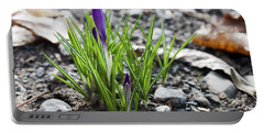 Bloom Awaits Portable Battery Charger by Jeff Severson