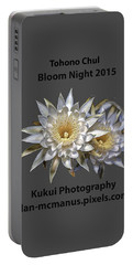 Portable Battery Charger featuring the photograph Bloom Night T Shirt by Dan McManus