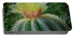 Blooming Cactus Portable Battery Charger