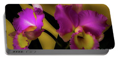 Blooming Cattleya Orchids Portable Battery Charger