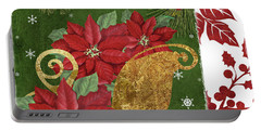 Blooming Christmas I Portable Battery Charger