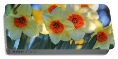 Blooming Daffodils Portable Battery Charger