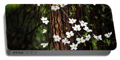 Blooming Dogwoods In Yosemite Portable Battery Charger