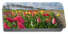 Blooming Holland Tulips Portable Battery Charger