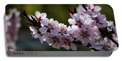 Blooming Peach Tree Portable Battery Charger