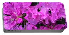 Blooming Rhododendron Portable Battery Charger