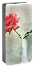 Blooming Rose Portable Battery Charger