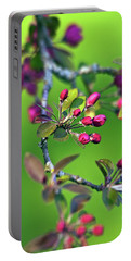 Blooming Spring Poetry Portable Battery Charger