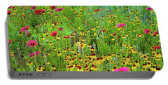 Blooming Wildflowers Portable Battery Charger
