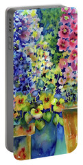 Blooms In Pots Portable Battery Charger