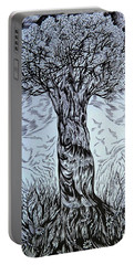Blossom At Any Age Portable Battery Charger by Anna  Duyunova