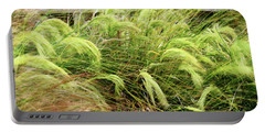 Portable Battery Charger featuring the photograph Blowing In The Wind by Nareeta Martin