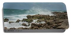 Blowing Rocks Preserve Jupiter Island Florida Portable Battery Charger