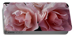 Blowsy Roses Portable Battery Charger