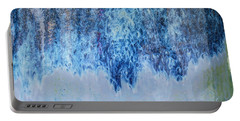 Blue Abstract One Portable Battery Charger