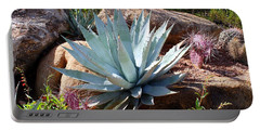 Portable Battery Charger featuring the photograph Blue Agave by Kathryn Meyer