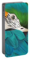 Blue And Gold Macaw Portable Battery Charger