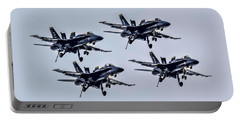 Blue Angels Exhibition Portable Battery Charger by Pat Cook