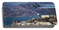 Blue Angels Over Alcatraz Portable Battery Charger
