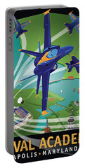 Blue Angels Over Usna Portable Battery Charger