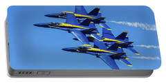 Blue Angels Very Close Formation 1 Portable Battery Charger
