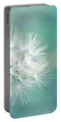 Portable Battery Charger featuring the photograph Blue Awakening by Trish Mistric