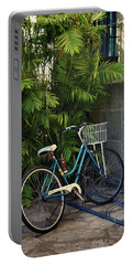 Blue Bike-  By Linda Woods Portable Battery Charger