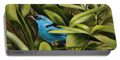 Blue Bird In Branson Portable Battery Charger