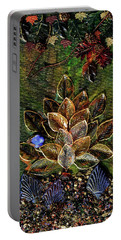 Blue Bird Singing In An Autumn Tree Portable Battery Charger by Donna Blackhall