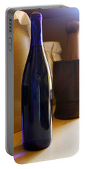 Blue Bottle And Mortar Portable Battery Charger