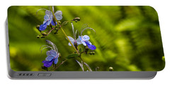 Blue Butterfly Portable Battery Charger