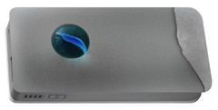 Blue Cat's Eye Portable Battery Charger