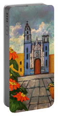 Blue Church   Iglesia Azul Portable Battery Charger