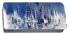 Blue City Portable Battery Charger by Stuart Turnbull