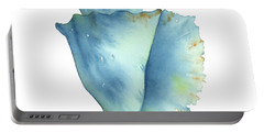 Blue Conch Shell Portable Battery Charger