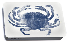 Blue Crab- Art By Linda Woods Portable Battery Charger by Linda Woods